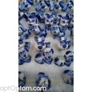 Керамические статуэтки собачек оптом