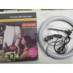 Кольцевая светодиодная лампа LED Ring Light 30 см оптом