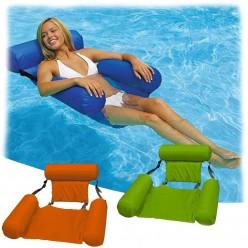 Надувной шезлонг для плавания в бассейне оптом