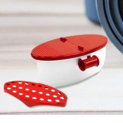 Контейнер для приготовления блюд в микроволновой печи pasta boat microwave оптом