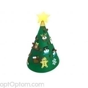 Christmas tree out of felt