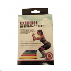 Набор из 5 эспандеров для фитнеса Exercise Resistance Belt оптом