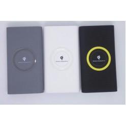 Внешний аккумулятор с беспроводной зарядкой Qi-Compatible 10000mah оптом
