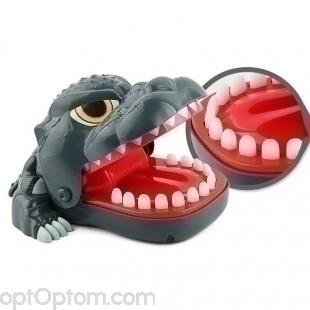 Детская настольная игрушка wolf dentist оптом
