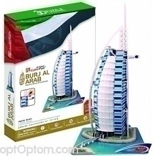 3D пазл Бурдж Аль араб оптом