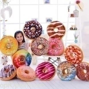 3D подушка пончик оптом