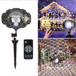 Лазерный проектор snow flower lamp оптом