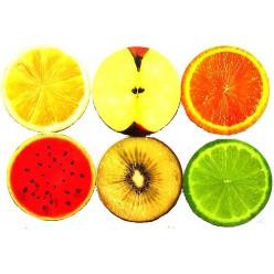 3D сквиши фрукты и овощи оптом