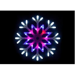 Светодиодная подвесная фигура Снежинка оптом
