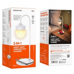 Беспроводное зарядное устройство-лампа BQ8 оптом