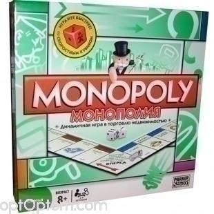 Игра Монополия 2-8 игроков оптом