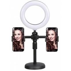 Кольцевая лампа на штативе c двумя держателями Live Light Holder оптом
