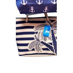 Пляжная сумка Пальмы оптом