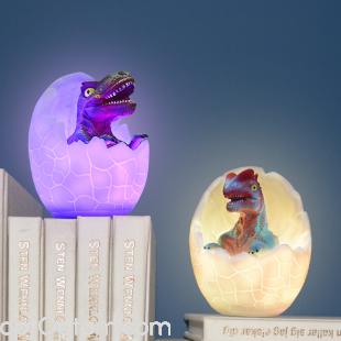 3d светильник ночник динозавр в яйце оптом