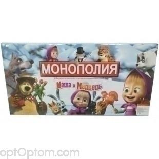 Настольная игра Монополия с персонажами из мультфильмов оптом