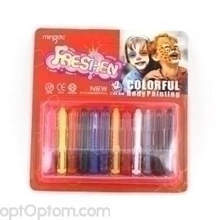 Аквагрим карандаши для лица оптом