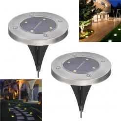 Садовый светильник на солнечной батарее Solar Pathway Lights 2 шт. оптом