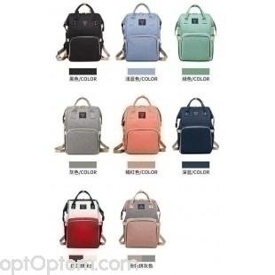 c6def8223d99 Сумка рюкзак для мамы baby mo с USB оптом купить со склада в Москве ...