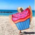Пляжное покрывало пирожное Sweetness Cupcake оптом