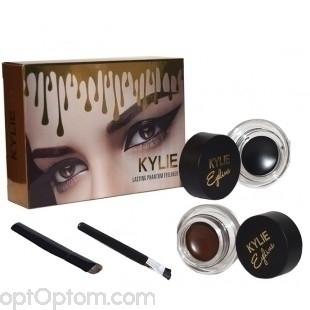 Набор для глаз Kylie long wear gel eyeliner 2 in 1 оптом