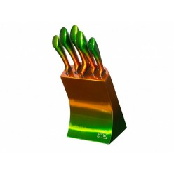 Набор из 5 ножей в металлической стойке Berlinger House оптом