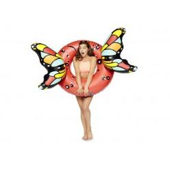 Надувной круг с крыльями бабочки 160х110см оптом