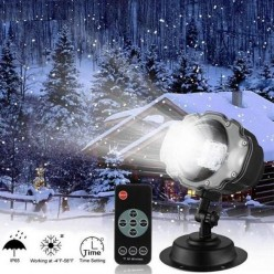 Лазерный проектор snow flower lamp оптом