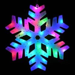 Светодиодная подвесная фигура Снежинка 2 оптом
