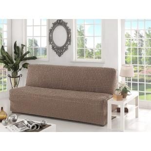 Чехол для дивана трехместный без подлокотников, без юбки
