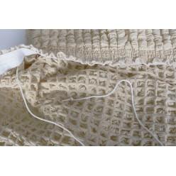 Чехол для дивана двухместный без подлокотников , без юбки