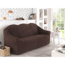 Чехол для дивана двухместный, без юбки