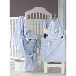 Набор махровый BABY CLUB детский халат 1-3 Лет