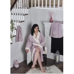 Набор халат махровый с полотенцем ADRA 1/3 (S/M)