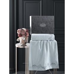 Комплект махровых полотенец c гипюр VALOR 50x90-70х140 см 1/2