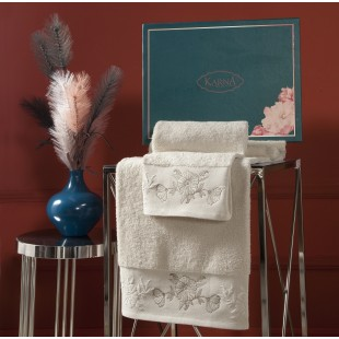 Комплект махровых полотенец MIRA 50x90-70х140 см