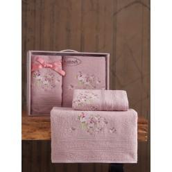 Комплект махровых полотенец MALDEN 50x90-70х140 см