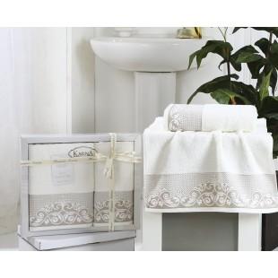 Комплект махровых полотенец BEYZA 50x90-70х140 см оптом