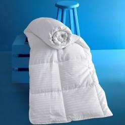 Одеяло сатин полосатый VIA (195x215) см