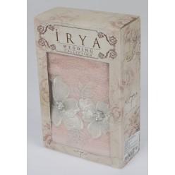 "Полотенце махровое в коробке ""IRYA"" c вышивкой FLEUR (50x90) см 1/1"