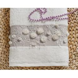 "Полотенце махровое в коробке ""IRYA"" c вышивкой HEAVEN (85x150) см 1/1"