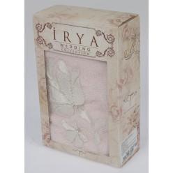 """Полотенце махровое в коробке """"IRYA"""" c вышивкой SENSES (70x130) см 1/1"""