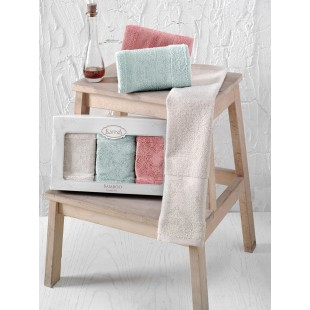 "Кухонные полотенца бамбук ""KARNA"" PANDORA 30х50 1/3"