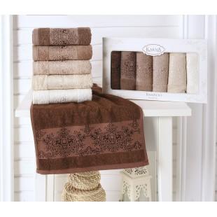 Кухонные полотенца бамбук PANDORA 30х50 1/6