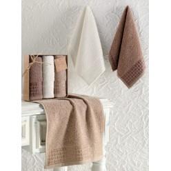 Кухонные полотенца махровые жаккард ETIYOPYA 30x50 см 1/3