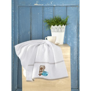 Кухонные полотенца махровое BREAKFAST 45х70 см 1/1
