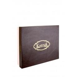 "Скатерть жаккард ""KARNA"" c салфетками VIPCOTON (160x220) см 1/8"